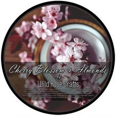 Wild Rose Crafts Cherry Blossom & Almond Shave Soap