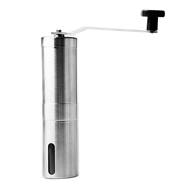 Portable Stainless Steel Hand Crank Coffee Grinder Mill