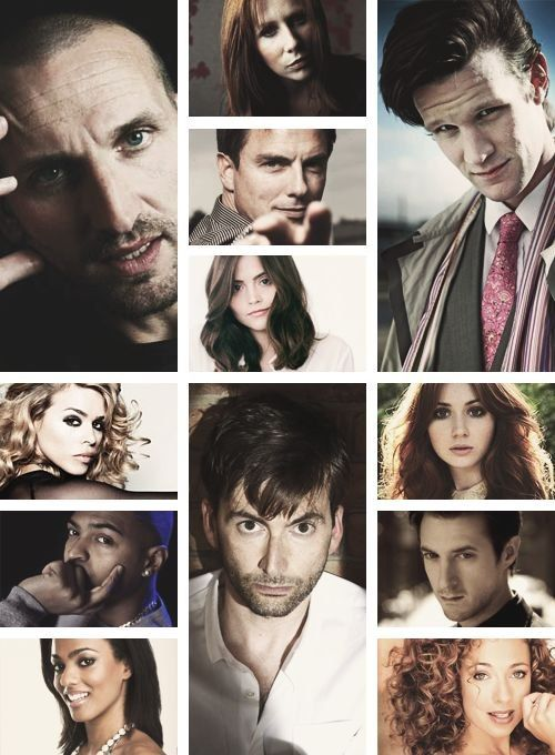 to me, there's something wrong with this picture...  The 11th Doctor should be wearing a bow tie... bow ties are cool.