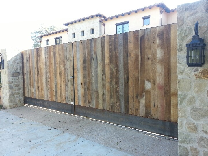 55 best images about driveway gates los angeles on for Where to buy reclaimed wood los angeles