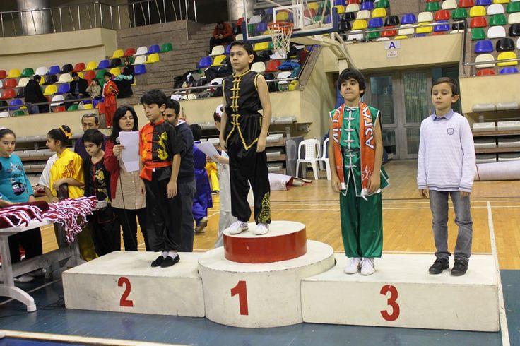 Wushu'da İstanbul Şampiyonluğu ve 3. lüğü Asfa'dan