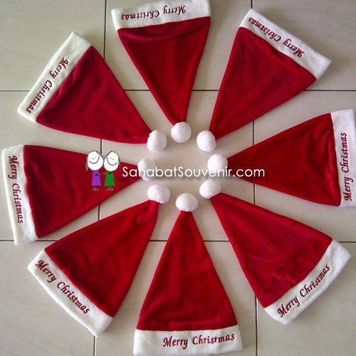Topi Santa Claus Untuk Anak-Anak dan Dewasa