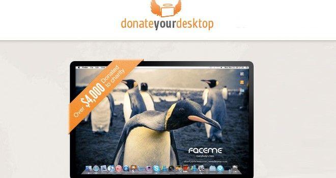 Donate your Desktop | #stoppress