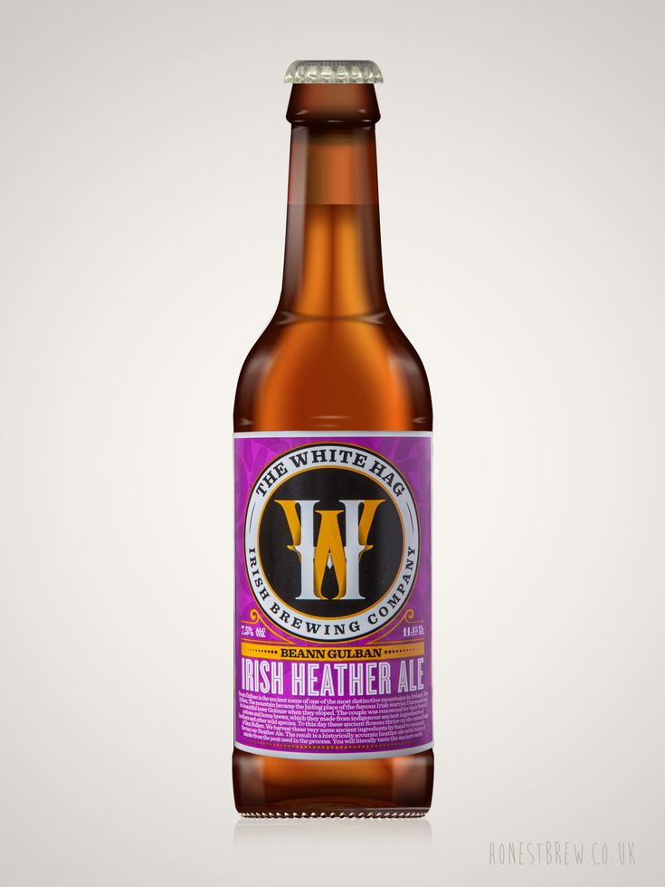 An ancient heather sour from White Hag brewery in Ireland. Buy craft beer online from Honest Brew.