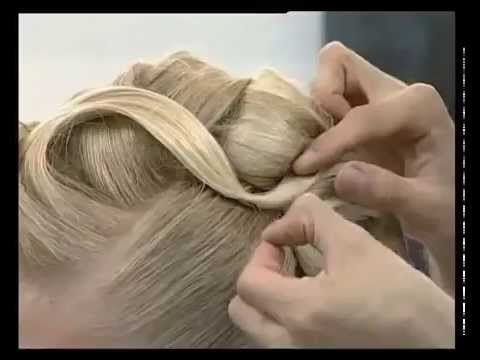 Competitive Bun Swirls Hairstyle Tutorial - Dance Comp Review