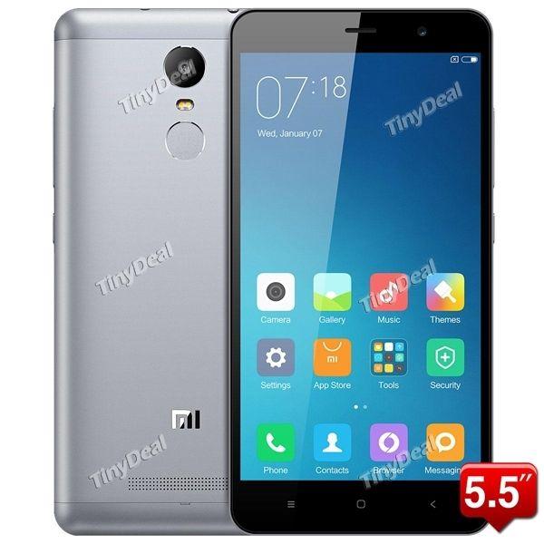 "XIAOMI REDMI NOTE 3 5.5\"" FHD MTK6795 64-bit Android 5.0 4G Phone 3GB RAM 32GB ROM Multi-Language Google Play Store P086-RMNO3T"