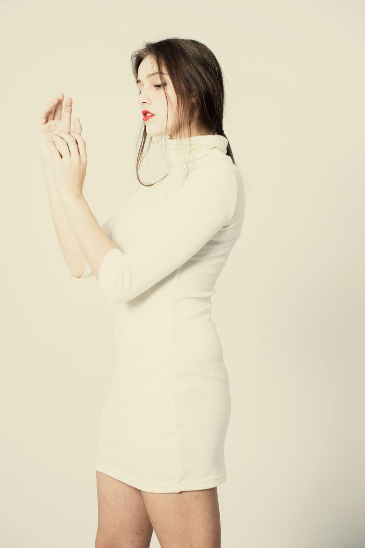 Izabela - šaty z jemného merino úpletu – MOLO7