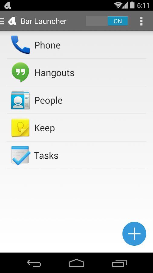 Apklio - Apk for Android: Bar Launcher v1.7.2 apk