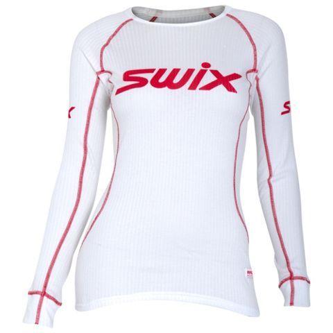 Swix Racex Lang Arm Superundertøy Dame KLARHVIT