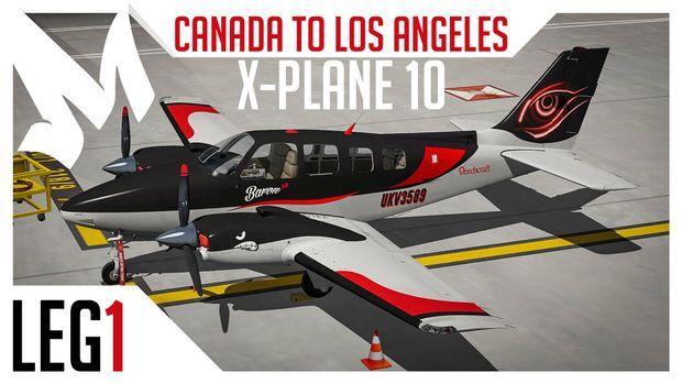 flygcforum com ✈ FLIGHT-SIM-WORLD #74 ✈ X-Plane 10 - Canada to L A