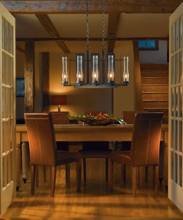 1000 images about light fixtures on pinterest lighting for Long dining table lighting
