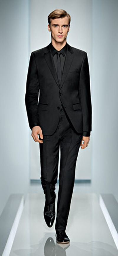 Black on Black Suit - Just got this one for Xmas aka Tom Ford! ;)