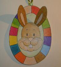Veľká noc - Zajačik vo vajíčku