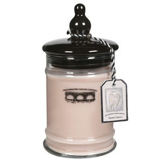 Bridgewater Sweet Grace Jar Candle.  One candle feeds a child for a day!  #Bridgewater_Candles
