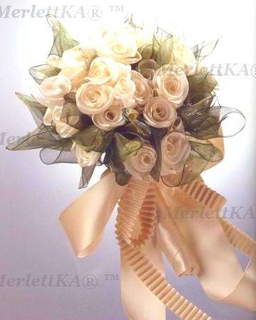 Украшения из лент Accessoires en Fleurs de Ruban Yukiko. Обсуждение на LiveInternet - Российский Сервис Онлайн-Дневников