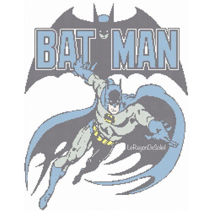 Batman Cushion Knitting Pattern : 312 best super heroes images on Pinterest