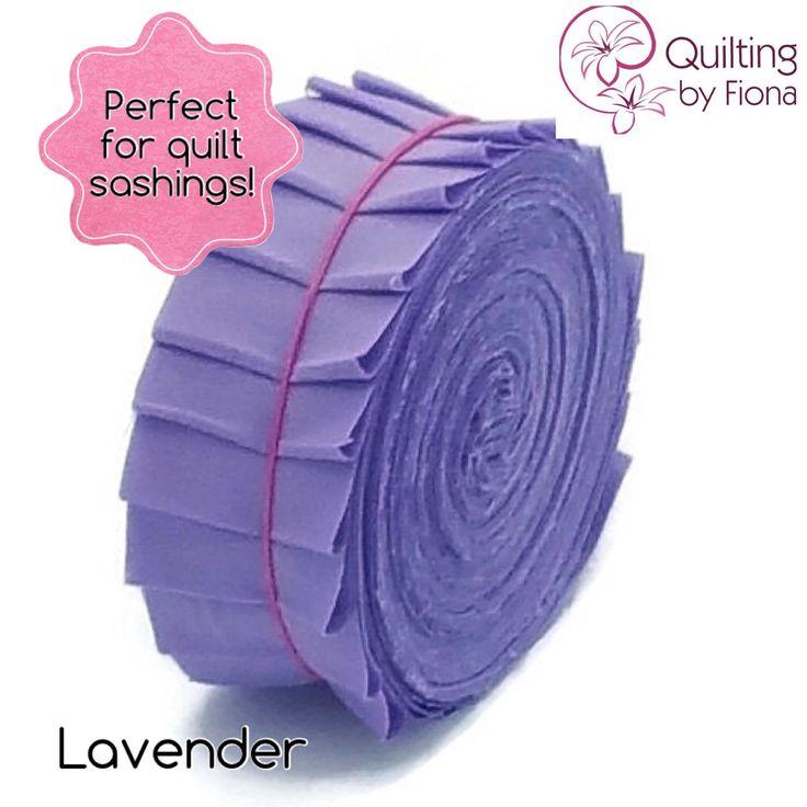 A personal favourite from my Etsy shop https://www.etsy.com/listing/231374699/20-lavender-purple-precut-honey-bun