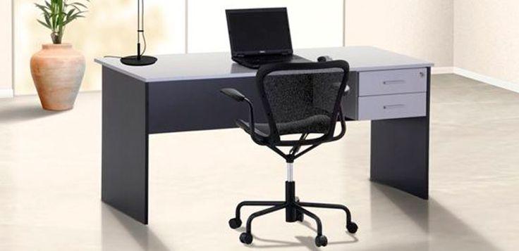 Adapta -- Características: Escritorio en melamina, versátil y adaptable a cualquier espacio. Infórmate más sobre este mueble dándole clic a la imagen.