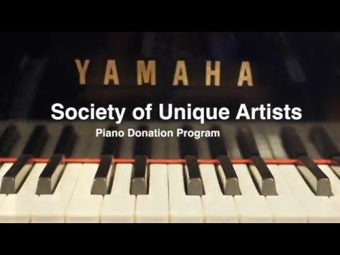 Society Of Unique Artists Donate Your Piano Piano Good To Know Society