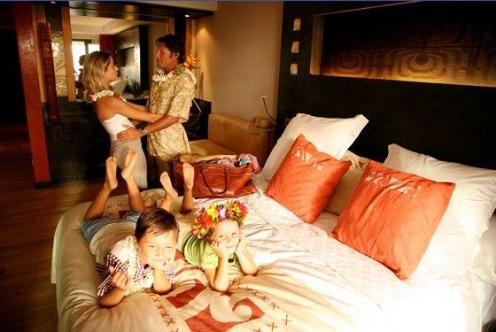Семейные поездки на Бора-Бора
