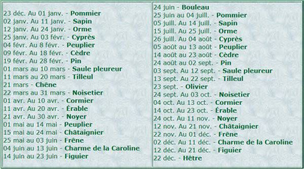 astrologie Celte
