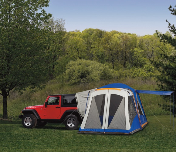 and maybe this year .... a Jeep Tent?