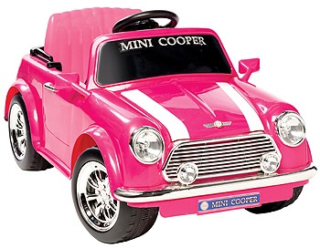 MINI COOPER rose ! OH NON !!!!!!!!!!!