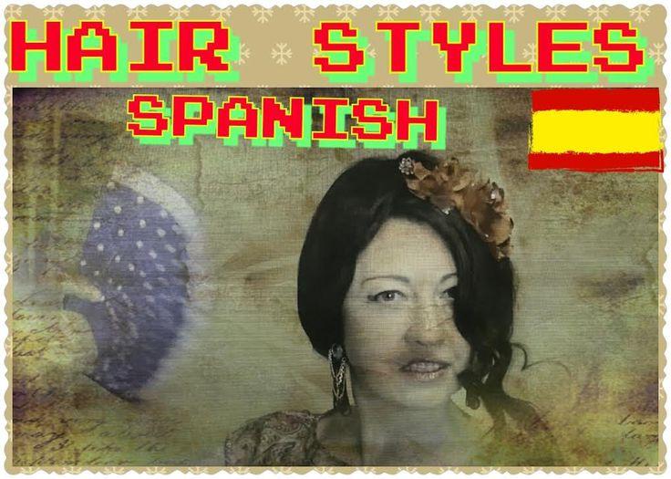 #Hair #Styles #Spanish/ Испанская прическа.