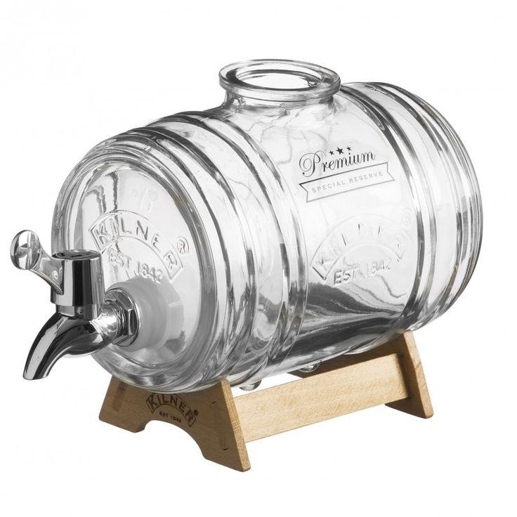 Glazen vat met tap - Kilner Barrel - 1 Liter