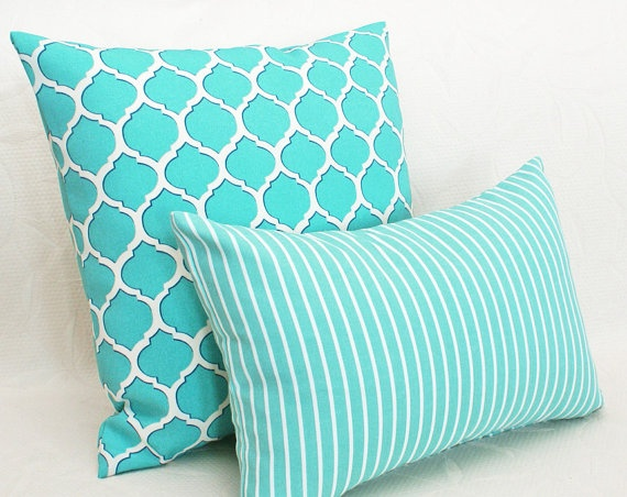 Turquoise couch pillows for Turquoise couch pillows