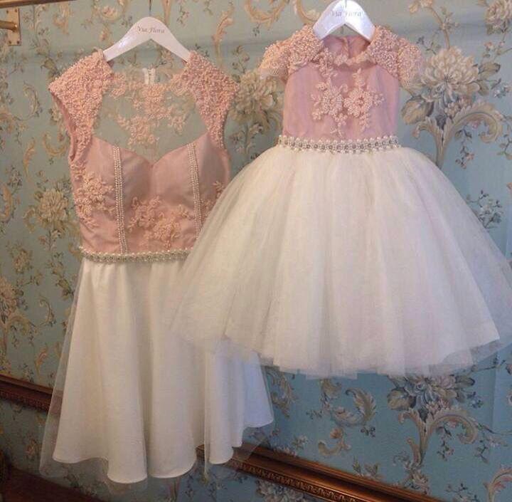 Vestidos iguales madre e hija