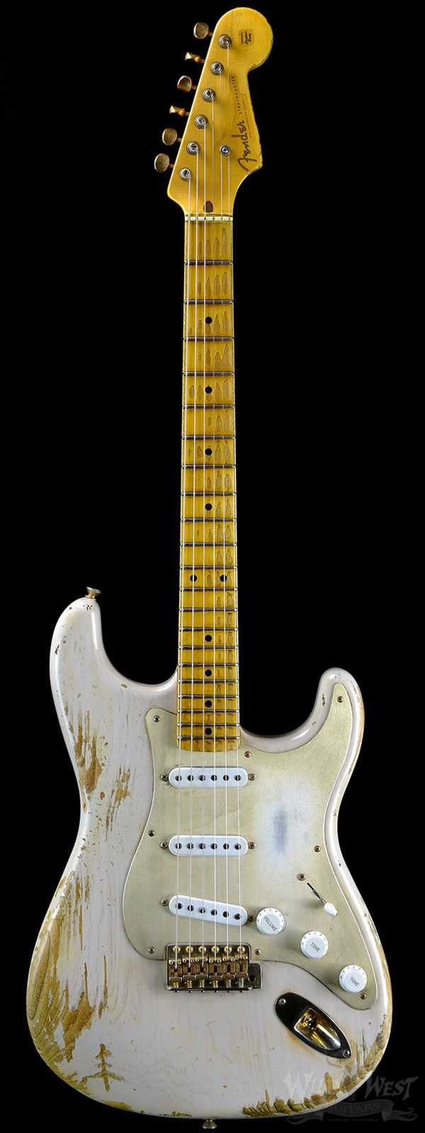 Fender Custom Shop Limited Edition Golden 50's 1954 Heavy Relic Stratocaster Dirty White Blonde
