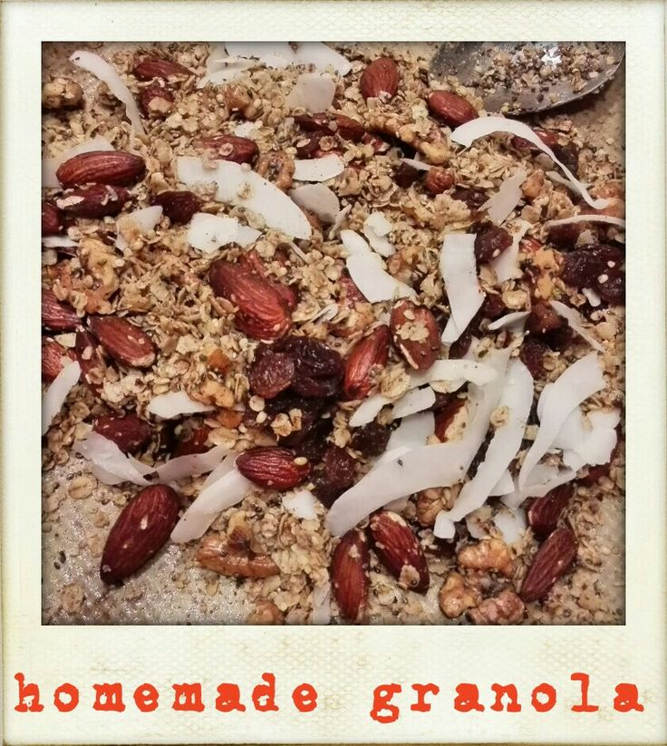 Blueberry Pistachio Granola With Fresh Peaches And Yogurt Recipes ...