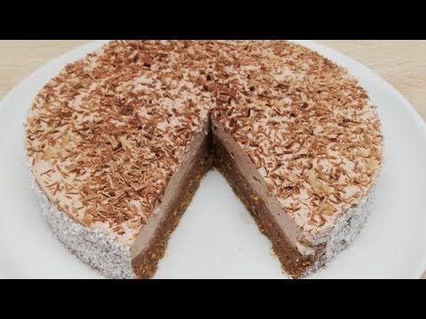 Gateau Sans Cuisson Au Chocolat Facile Cuisine Rapide Youtube Food Desserts Food And Drink