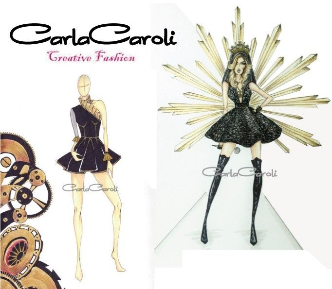 Figurini by Carla Caroli