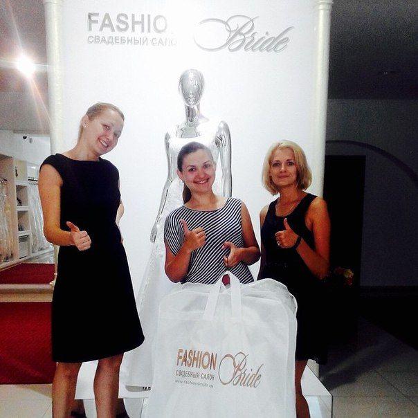 Наша прекрасная невеста Настенька :) поздравляем с выбором платья #Fashionbride г. Одесса ул. Греческая 12 телефон для записи 0487064404