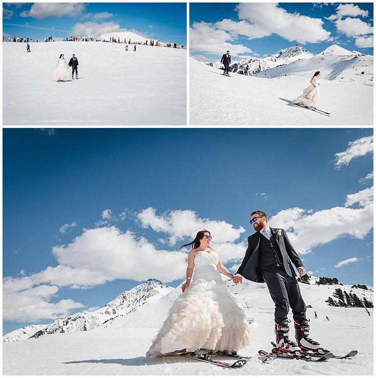 Ski Wedding in the Alps