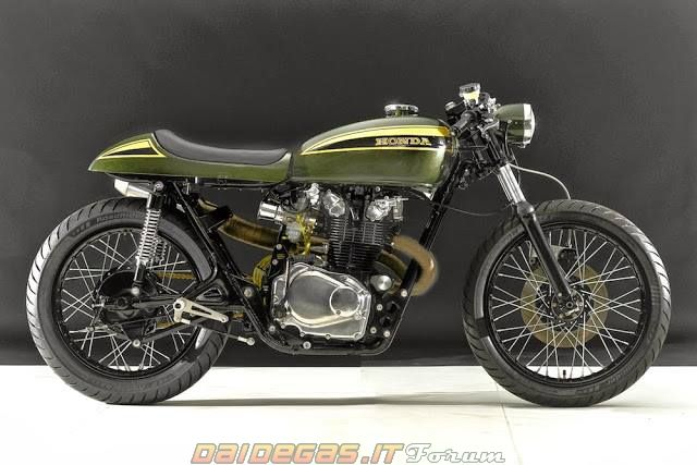 1973 Honda CB 450 Cafe Racer - DaiDeGas Forum