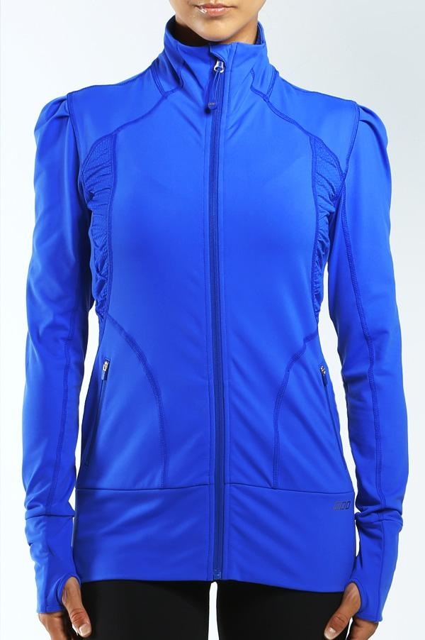 Shelly Excel Zip Through - Lorna Jane - Great colour to energize!