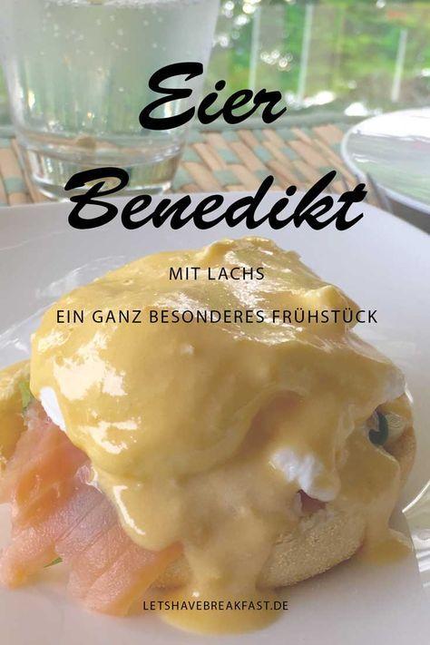 Eier Benedikt zum Frühstück...mmmhhhh lecker...