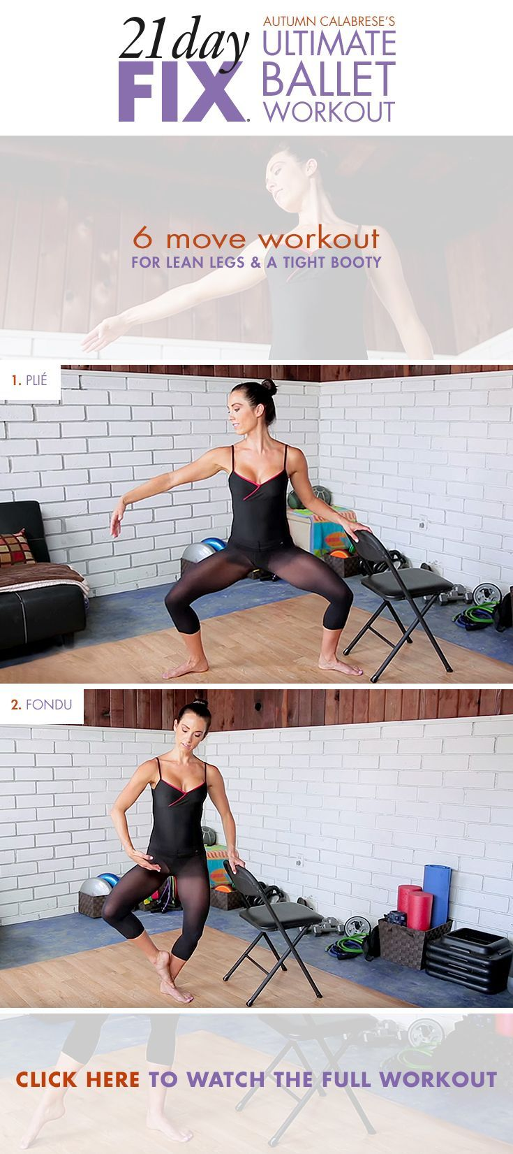 Strengthen your core & lower body with our favorite moves from Autumn's Ballet Workout! // 21 Day Fix // 21 Day Fix Extreme // fitness // fitspo // workout // motivation // exercise // Inspiration // barre // ballet // strength training // fitfam //fixfam // fit //