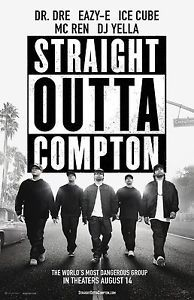 Straight Outta Compton Movie Poster 32 in x 22 in Fast Shipping | eBay