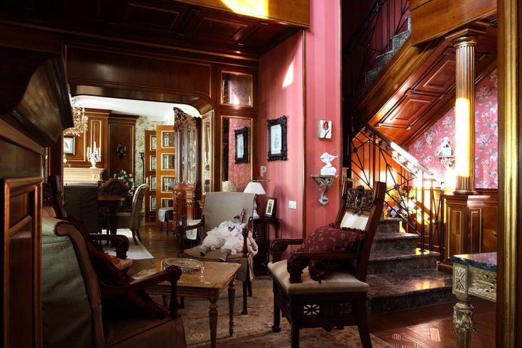 Фото лестницы дома в классическом стиле