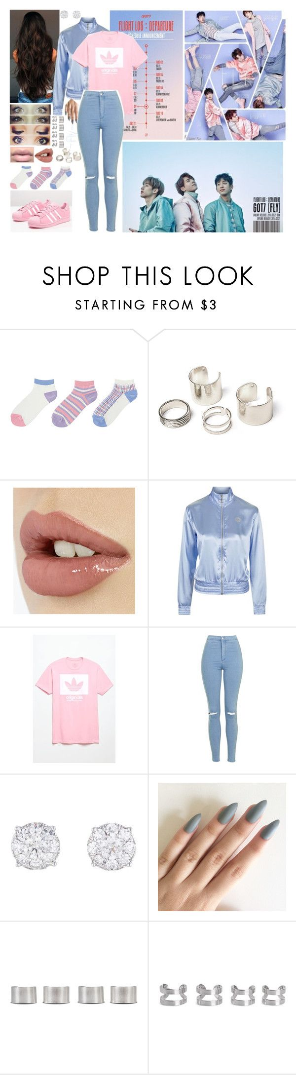 """""""Got7 Fly In USA"""" by mokatinker0120 ❤ liked on Polyvore featuring Uniqlo, adidas Originals, Topshop, adidas, Maison Margiela, fly, GOT7, flyinusa and FlightDeparture"""