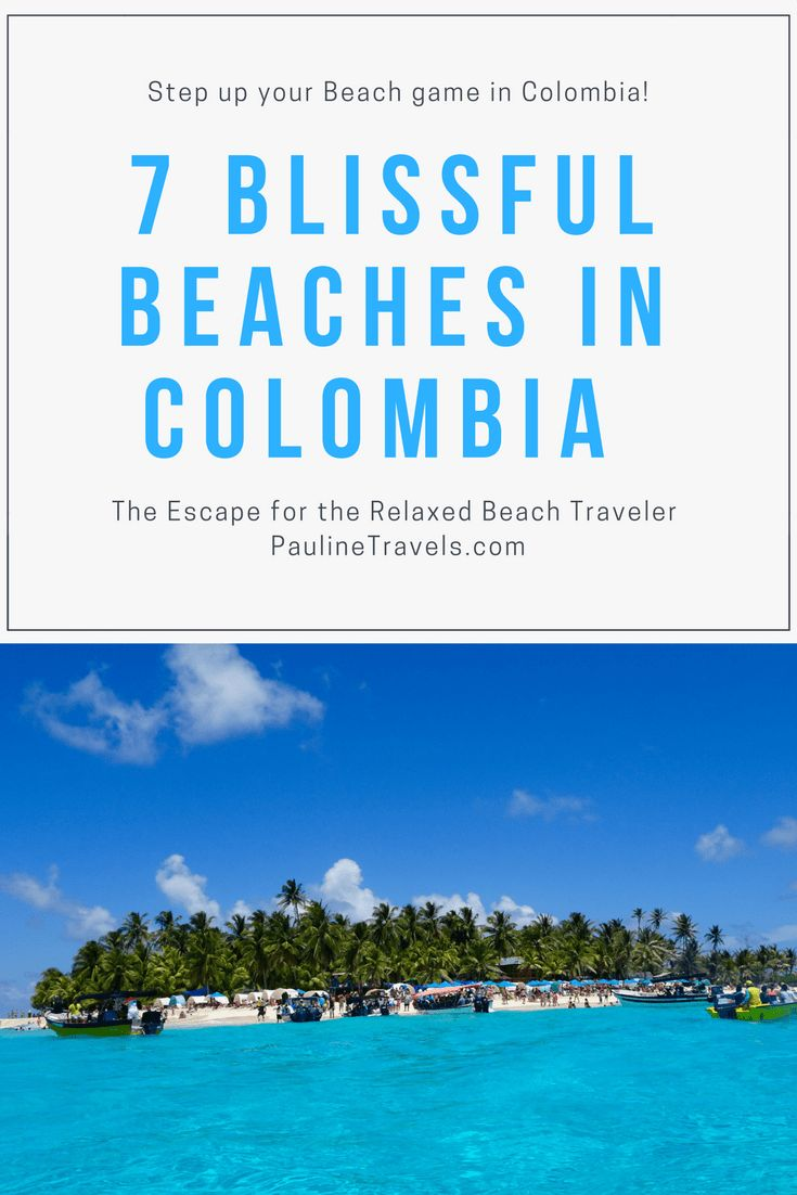 7 Beautifuel & Blissful Beaches in Colombia in South America: From Playa Blanca to Costeno Beach & then to the Islands of San Andres & Providencia, this is the Caribbean in Colombia.