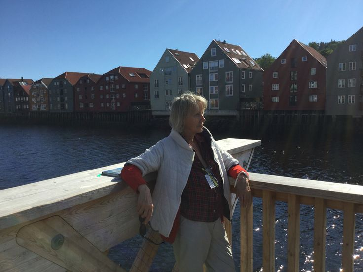 """In Norway thinking: """" what I am going to cook? Fish, of course!"""""""