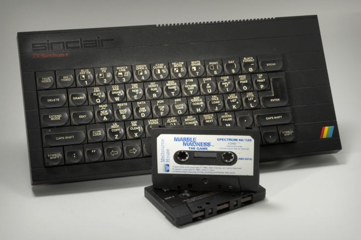 Sinclair ZX Spectrum+ microcomputer
