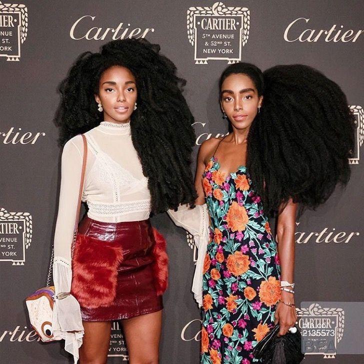 Estas gemelas odiaban su impactante cabello. Lo que jamás imaginaron es que se harían famosas por él
