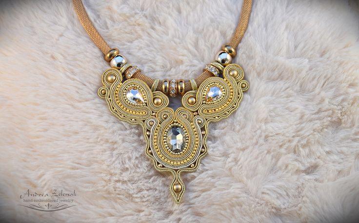 Soutache necklace - Andrea Zelenak S0330