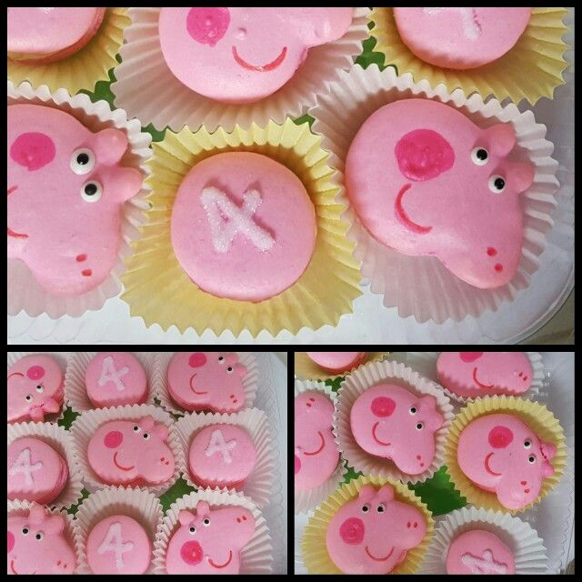 Peppa the Pig French Macarons